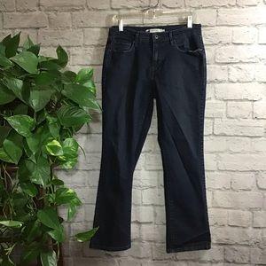 Levi's blue size 8 straight leg jeans